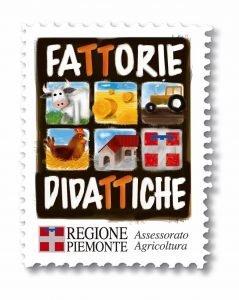 La Camelia d'Oro - logo fattoria didattica Pieonte